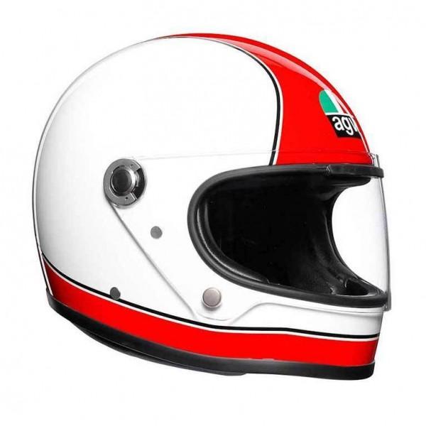 """AGV X3000 - """"Super AGV Rot & Weiß"""" - ECE"""