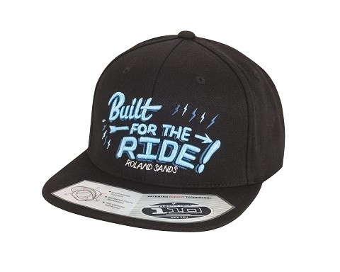"ROLAND SANDS Hat - ""Built"" - black"