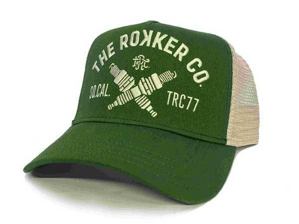 "ROKKER Cap - ""TRC77 Trukker"" - grün"