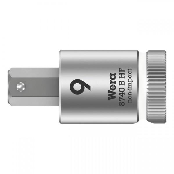 "WERA Tools - ""Zyklop 3/8"" Hex socket bit with holding function Metric"" - Hex (Allen head) socket bolts/screws"