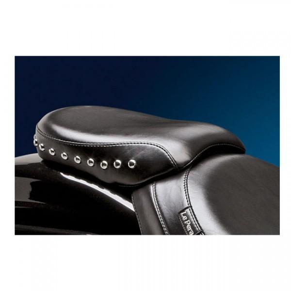 "LEPERA Sitz - ""Sanora Passenger seat. Smooth"" - 06-17 Softail with 200mm rear tire (NU)"