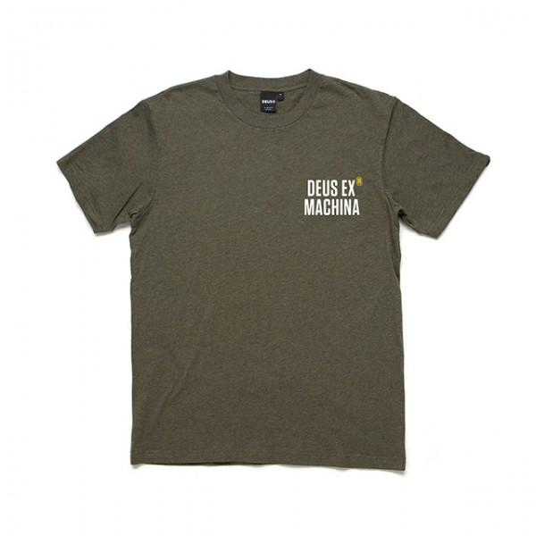 DEUS EX MACHINA t-shirt Panorama Tee in Dark Olive