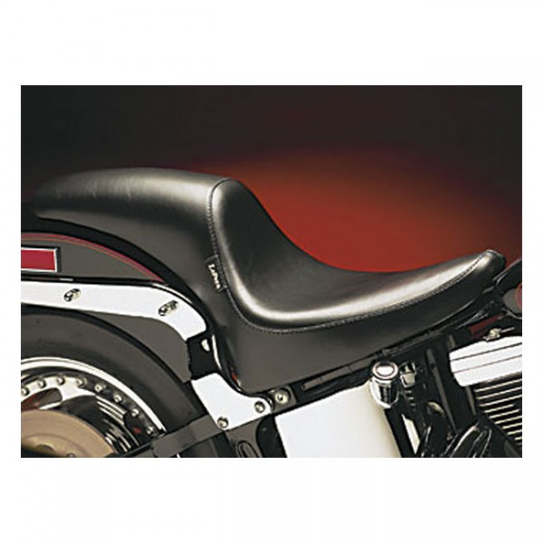 """LEPERA Seat - """"LePera, Silhouette Deluxe seat"""" - 00-17 Softail (excl. Deuce) with up to 150mm rear tire (NU)"""