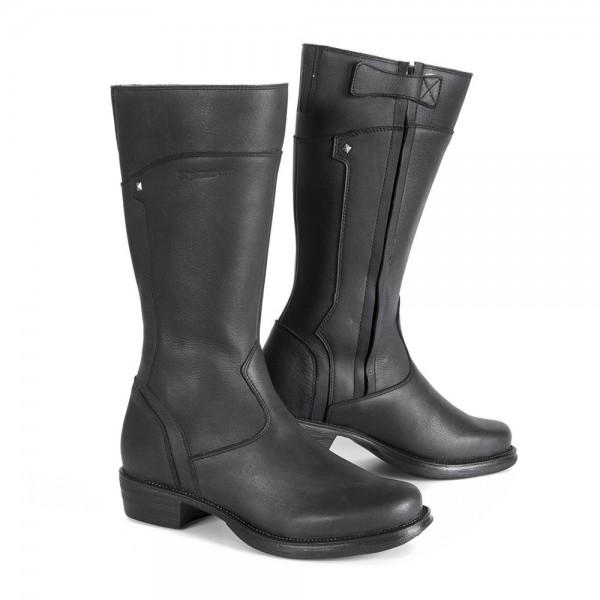 "STYLMARTIN Women's Motorcycle Boots - ""Sharon"" - waterproof black"