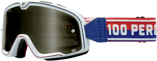 "100% BARSTOW - ""Classic White"" - vintage motocross goggles"