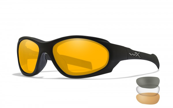 Wiley X Brille XL-1 AD Grey, Transparent & Orange