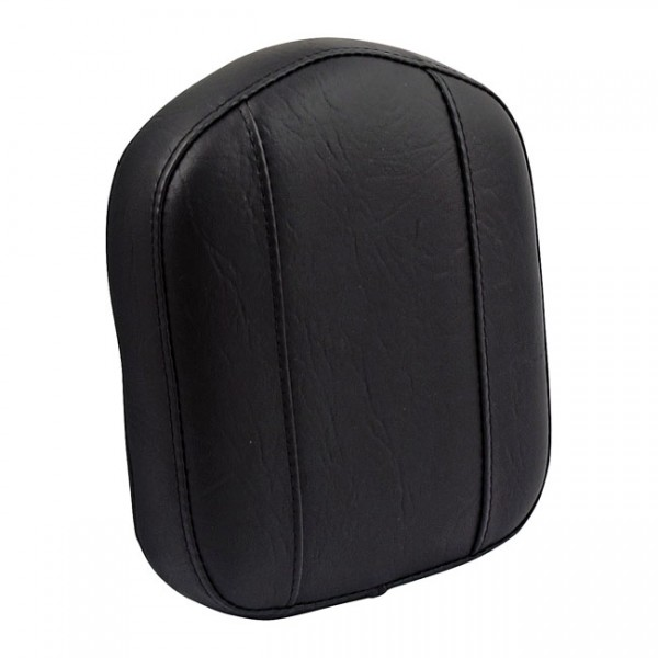 """MUSTANG Seat - """"Mustang, OEM style sissy bar pad. Black"""" - all H-D with stock/aftermarket sissy bars (excl. FLHR, FLHT with die-cast bolt-in inserts)"""