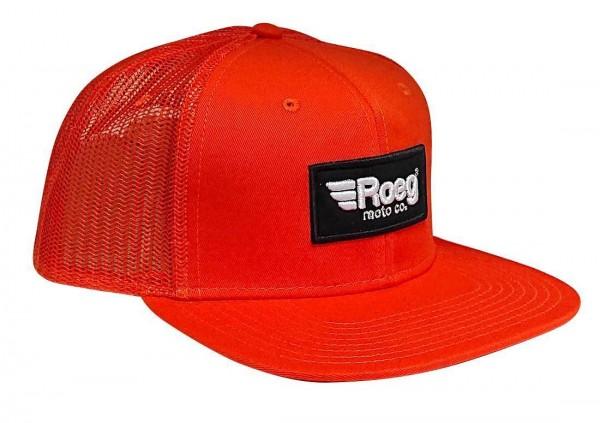 ROEG Cap Moto Co. in orange with logo