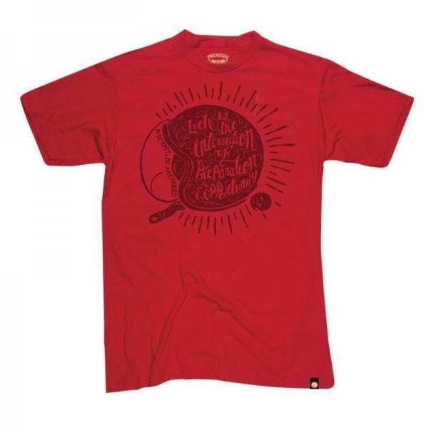 """ROLAND SANDS T-Shirt - """"Lucky"""" - red"""