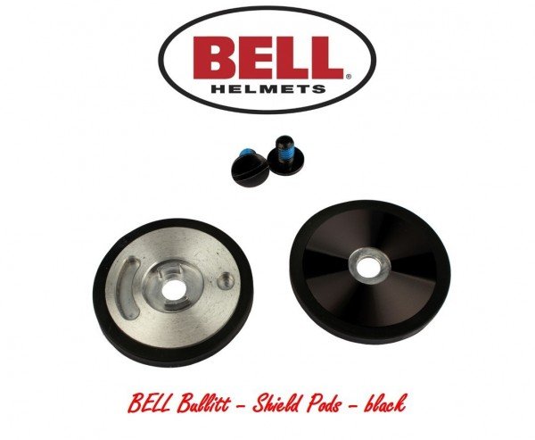 """BELL Bullitt - """"Shield Pods"""" - black"""