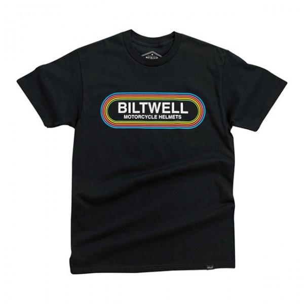 BILTWELL t-shirt Rock'n'Roll in black