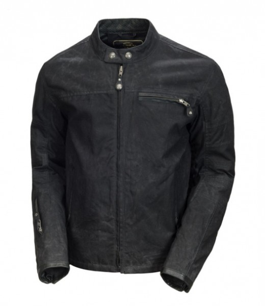 "ROLAND SANDS Jacket - ""Ronin Waxed Cotton"" - black"