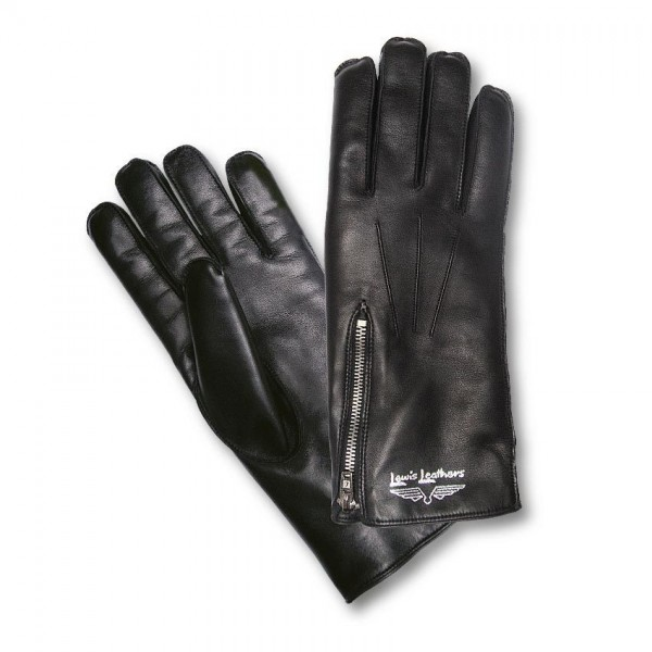 """LEWIS LEATHERS Handschuhe - """"694 Lined"""" - schwarz"""