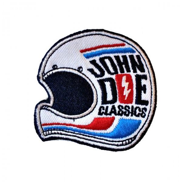 JOHN DOE Aufnäher Classics in Weiß