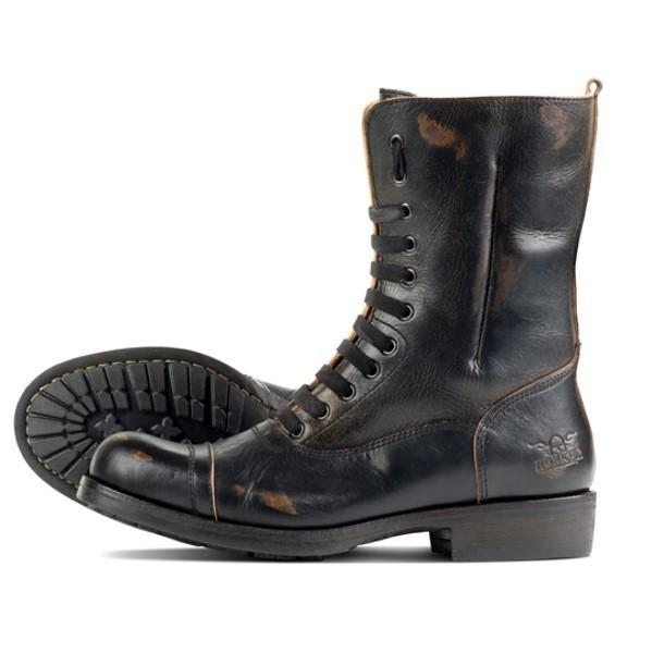 """ROKKER Boot - """"City Racer 11 inches"""" - motorcycle boots - black"""