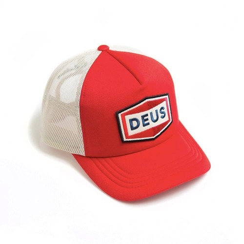 DEUS EX MACHINA hat Speed Stix Trucker in red