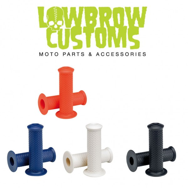 """LOWBROW CUSTOMS Grips - """"Fish Scale"""" - 1 inch"""