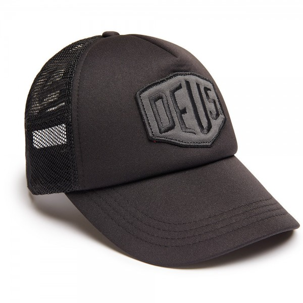 "DEUS EX MACHINA Cap - ""Colour Shield Trucker"" - schwarz"