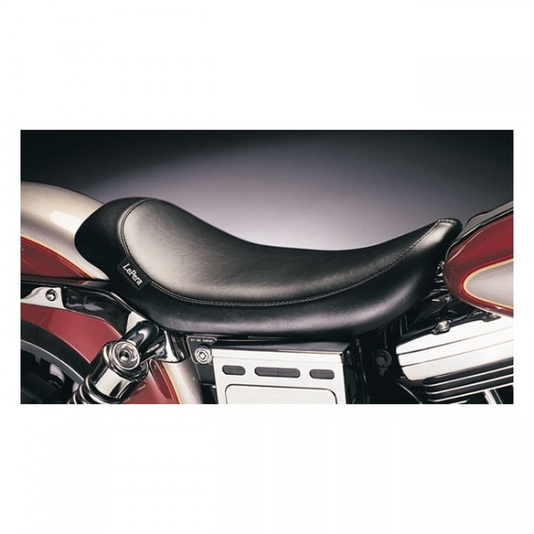 """LEPERA Sitz - """"Silhouette solo seat. Smooth"""" - 96-03 Dyna FXD, FXDLR (NU)"""