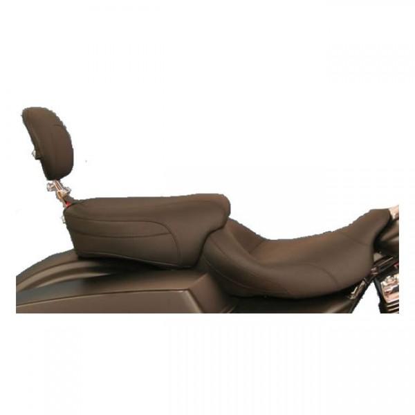 "MUSTANG Sitz - ""Mustang, passenger seat. With passenger backrest"" - 97-20 FLT/Touring"