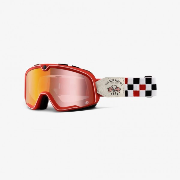 """100% BARSTOW - """"O.S.F.A. 2 Dimitri Coste"""" - vintage motocross goggles"""