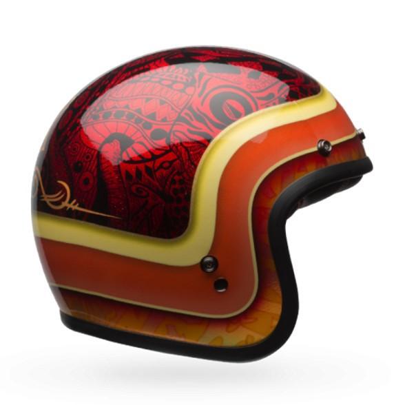 "BELL Custom 500 - ""Hart Luck Red Black"" - ECE"
