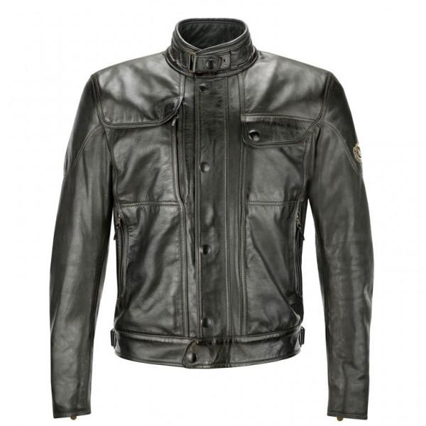 """MATCHLESS PM Jacket - """"Kensington Blouson"""" - antique black"""