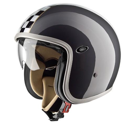 """PREMIER Vintage - """"CK Grey"""" - Rally Helmet"""