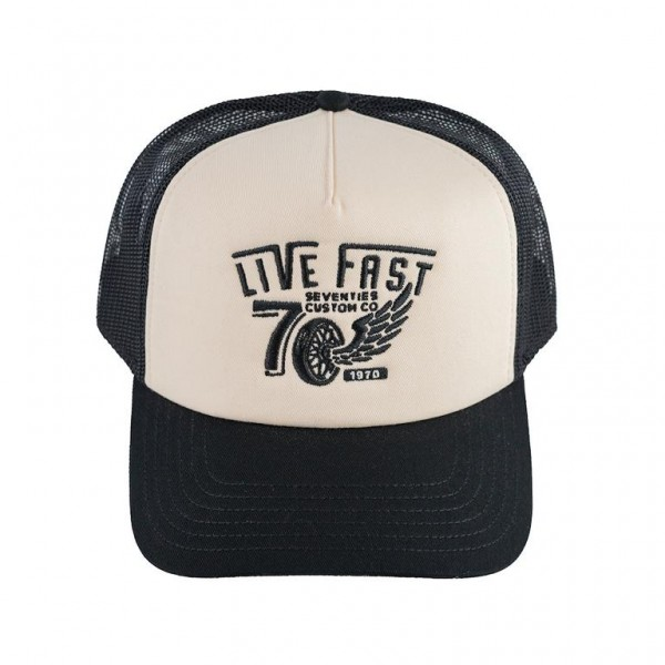 SEVENTIES Hat Live Fast