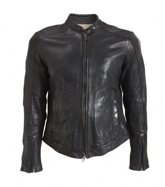 "ROKKER Jacke - ""Street Leather Jacket"" - schwarz"