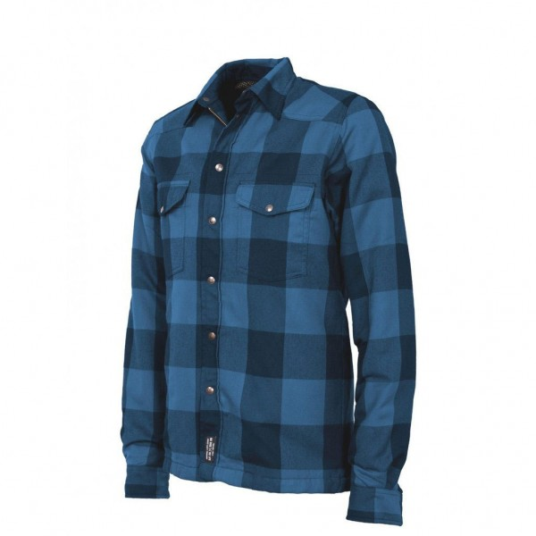"JOHN DOE Riding Shirt - ""Lumberjack"" - blue & black"