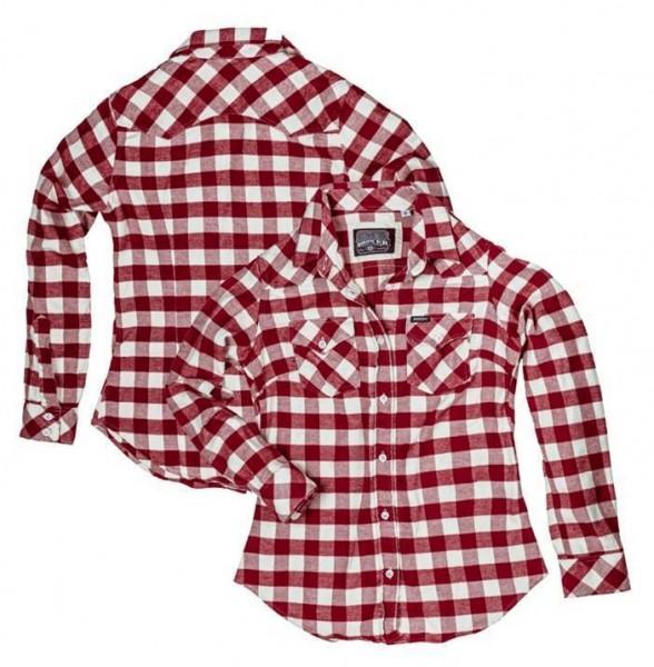 "ROKKER Women's Shirt - ""Donnas Vintage"" - checkered"