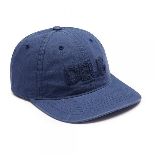 """DEUS EX MACHINA Cap - """"Reader"""" - blau"""