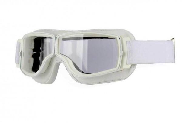 AVIATOR Brille T2 weiß transparent