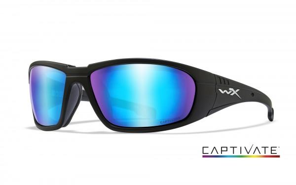 Wiley X Brille Boss Captivate Blau Verspiegelt
