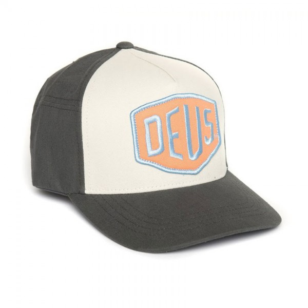 "DEUS EX MACHINA Hat - ""Colour Shield"" - dark grey"