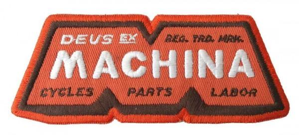 """DEUS EX MACHINA Aufnäher - """"Orange M"""""""