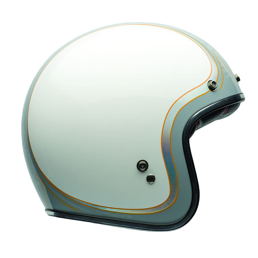 Choose Color Bell Riot Helmet Repl Flat Face Shield Motorcycle Shield