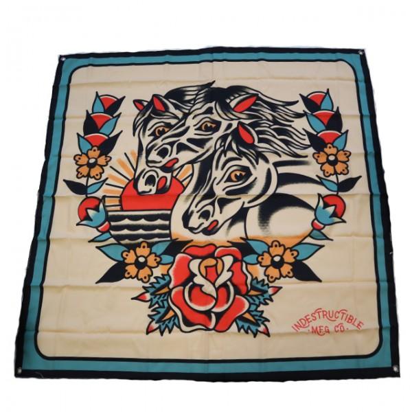 INDESTRUCTIBLE MFG Flag Pharaohs Horses