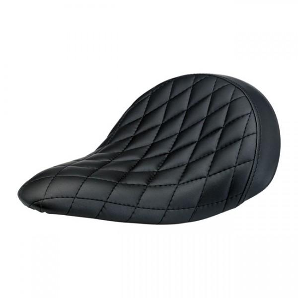 BILTWELL Motorcycle Seat Slimeline Solo Diamond