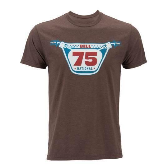 """BELL T-Shirt - """"Racer 75"""" - braun"""