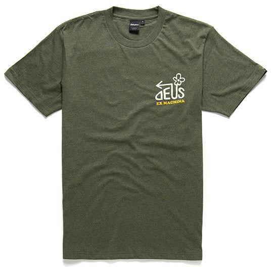 DEUS EX MACHINA t-shirt Thirst Tee leaf marle