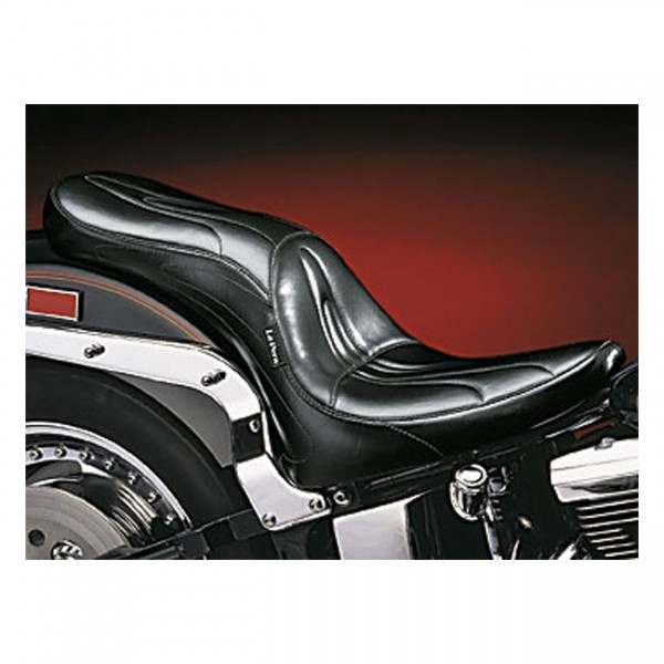 """LEPERA Sitz - """"Sorrento 2-up seat. Gel"""" - 00-17 Softail (excl. Deuce, FXS, FLS/S) with up to 150mm t"""