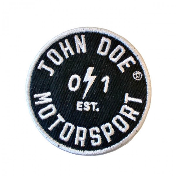 JOHN DOE Patch Est. 01 in black and white