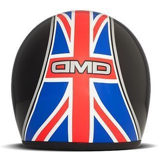 "DMD Vintage - ""UK Black"" - jet helmet"