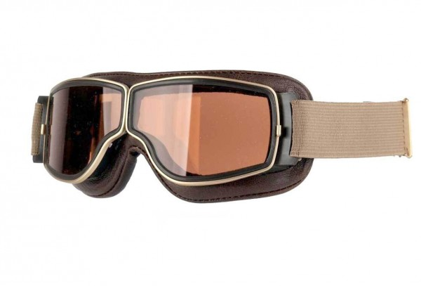 AVIATOR Brille T2 antikbraun gold braun