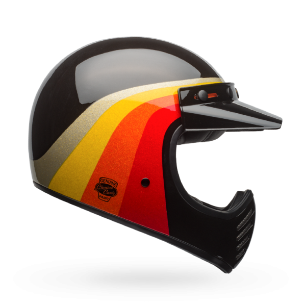 """BELL Moto 3 - """"Chemical Candy Black Gold"""" - ECE"""