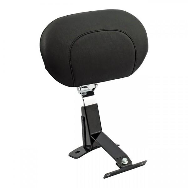 """MUSTANG Seat - """"Mustang, rider backrest kit. Smooth"""" - 09-20 Touring"""