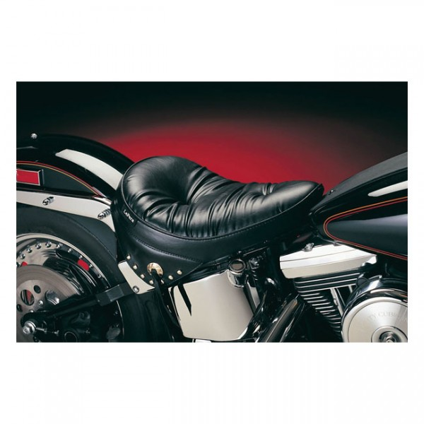 """LEPERA Seat - """"LePera, Sanora solo seat. Regal Plush with skirt. Gel"""" - 08-17 Softail with 150mm tire (fender mounted)"""