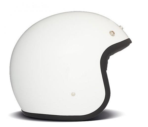 DMD Open Face Helmet Vintage White